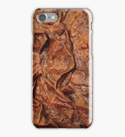 Brown Contours iPhone Case/Skin