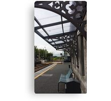Castlerea Train Station Canvas Print