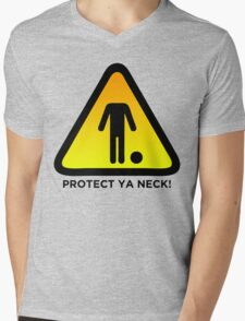 Protect Ya Neck! (Brazilian Jiu Jitsu) Mens V-Neck T-Shirt