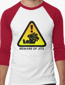 Beware of Jitz (Jiu Jitsu) 2 Men's Baseball ¾ T-Shirt