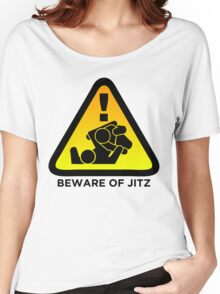 Beware of Jitz (Jiu Jitsu) 2 Women's Relaxed Fit T-Shirt