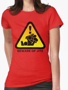 Beware of Jitz (Jiu Jitsu) 2 Womens Fitted T-Shirt
