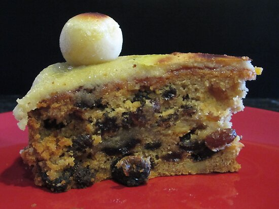 A Slice Of Simnel Cake by v-something