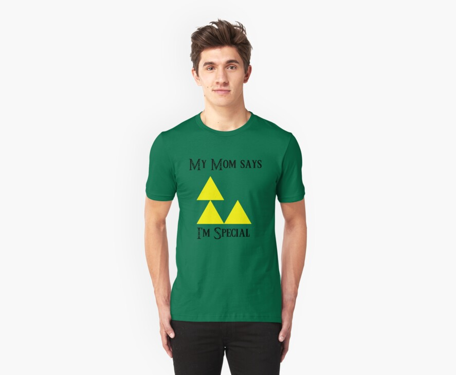 Triforce - My mom says I'm special (A) by DrGluefoot
