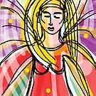 Angel of Light  - Celebrating International Women's Day 8 March 2013 by Anthea  Slade