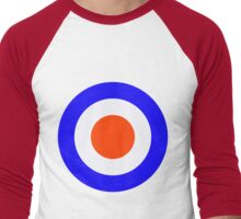 Classic MOD target Men's Baseball ¾ T-Shirt
