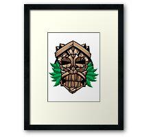 Tiki Tiki Framed Print