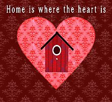 Home is where the heart is by gardencottage