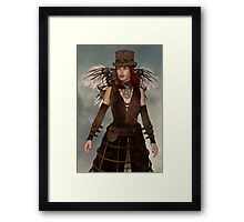 Steampunk Angel Framed Print