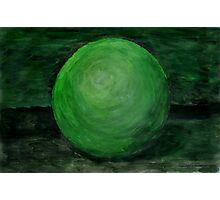 Green Ball Photographic Print