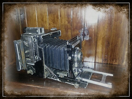 Graflex Speed Graphic Press Camera by Keith G. Hawley