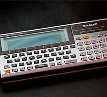Sharp PC-1600 pocket computer by Keith Midson