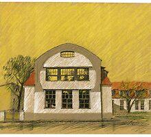 Van de Velde - Giebel / Bauhaus-Uni Weimar by HannaAschenbach