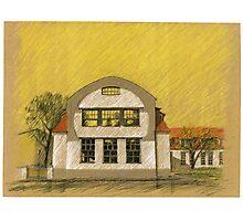 Van de Velde - Giebel / Bauhaus-Uni Weimar Photographic Print