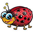 Cute Ladybug by Silvia Neto