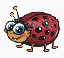Cute Ladybug One Piece - Long Sleeve