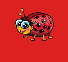 Cute Ladybug Womens Fitted T-Shirt
