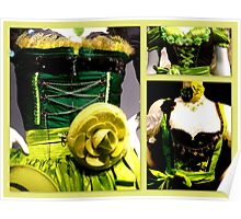 Green Dirndl Collection Poster
