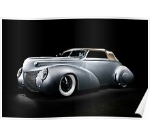 Custom Ford Coupe Poster
