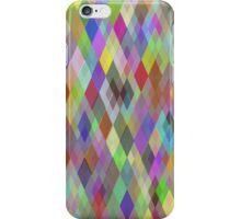 Multicolor Geometric Pattern  iPhone Case/Skin