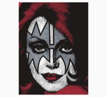 Ace Frehley - Kiss - The Space Ace T-Shirt by Design-Magnetic