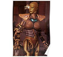 Steampunk Android Poster