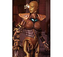 Steampunk Android Photographic Print