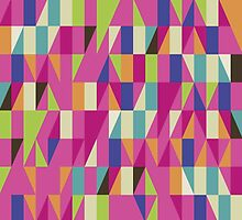 Colorful Geometric Pattern by AdrianeJ