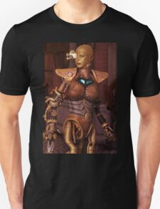 Steampunk Android Unisex T-Shirt