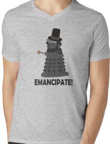 Abraham Dalek Mens V-Neck T-Shirt