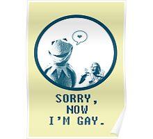 Kermit in Love Poster