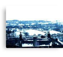 Snowy view Canvas Print