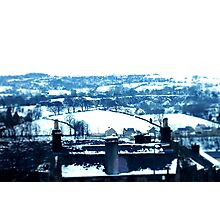 Snowy view Photographic Print