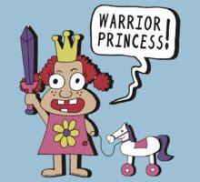 Warrior Princess by jarhumor