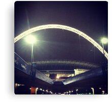 Wembley Arch. Night. Canvas Print