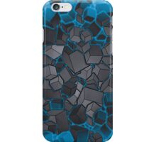 Boxes - Grey and Blue iPhone Case/Skin