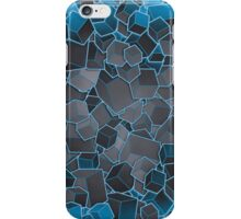 Boxes - Grey and Blue varient  iPhone Case/Skin