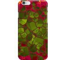 Boxes - Green and Red iPhone Case/Skin