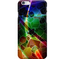 Boxes - With Multicoloured pattern iPhone Case/Skin