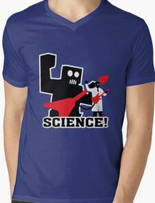 Science, With Guitars Mens V-Neck T-Shirt