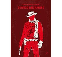 No184 My Django Unchained minimal movie poster Photographic Print