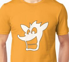 Crash Bandicoot silhouette  Unisex T-Shirt