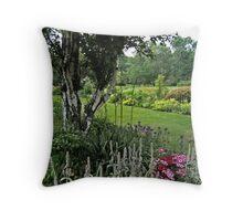 The Beautiful Gardens at Skylands Manor, Ringwood NJ Throw Pillow