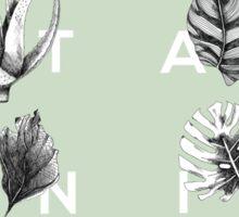 Botanica Letters | Mint Sticker