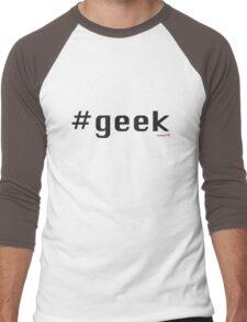 #geek Men's Baseball ¾ T-Shirt