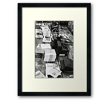 Film on film Framed Print