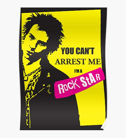 You can't arrest me.... Poster