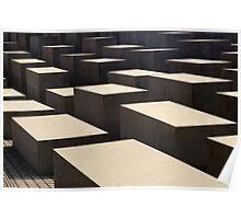 Holocaust Monument Poster