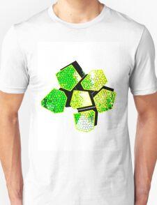 Digital mosaic Flower T-Shirt