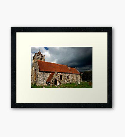St Michael and All Angels Parish Church Framed Print